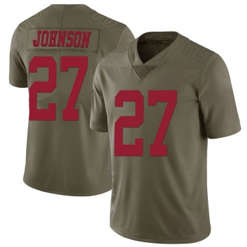 Men's Dontae Johnson San Francisco 49ers Limited Green 2017 Salute to Service Jersey