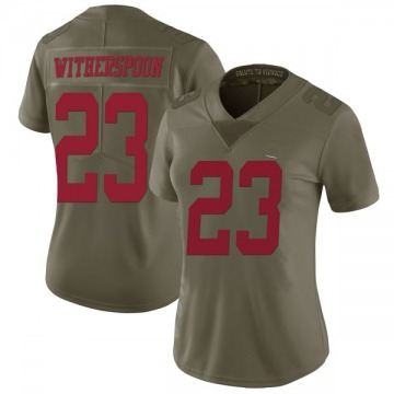 Women's Ahkello Witherspoon San Francisco 49ers Limited Green 2017 Salute to Service Jersey