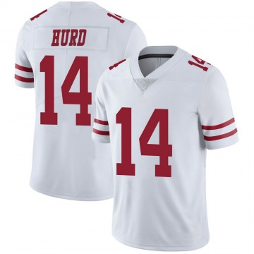 Youth Jalen Hurd San Francisco 49ers Limited White Vapor Untouchable Jersey